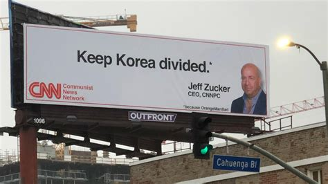 anti cnn billboard appears   cnns hollywood