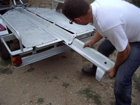 construction d une remorque porte moto maison pour 20