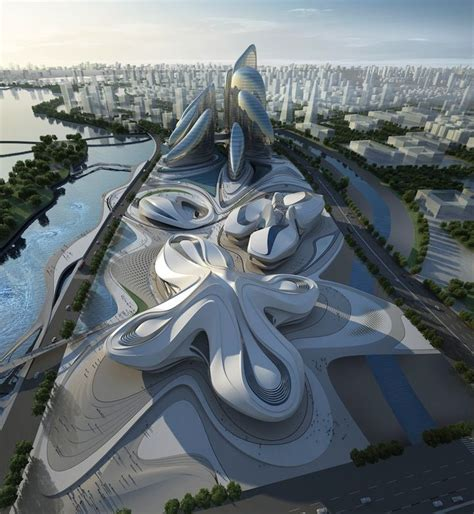 Le Projet Titanesque De Zaha Hadid Architects En Chine