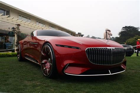 mercedes maybach   future vision  electric luxury