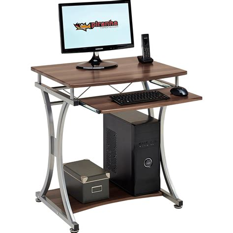 computer desk pc table compact computer desk with keyboard shelf for home office
