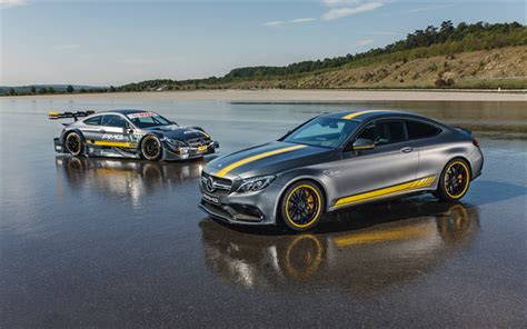 Mercedes C Class Coupe 4k Wallpapers by T 233 L 233 Charger Fonds D 233 Cran Mercedes C63s Amg Edition 1