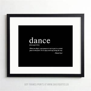 Printable inspirational quotes of dance quotesgram