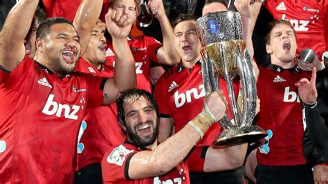 crusaders win  straight super rugby title fbc news