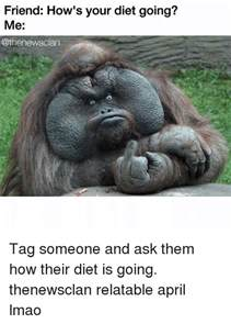 How's Your Diet Going Meme