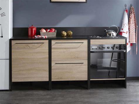 meuble plan travail cuisine meuble bas cuisine avec plan de travail maison design