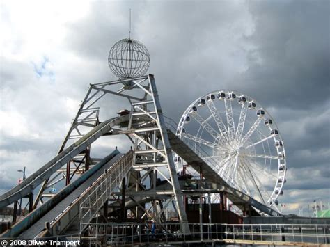 Log Flume - Pleasure Beach Great Yarmouth - United Kingdom ...
