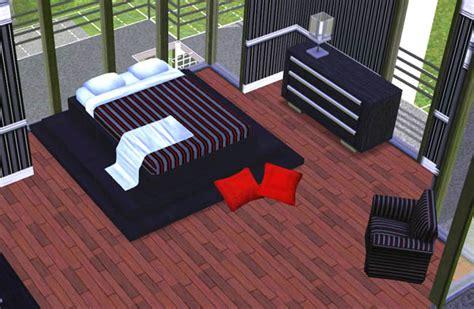 chambre des maitres moderne interieur maison moderne sims 3