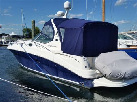 Used Boat Trailers St Petersburg Fl by Purchase Pre Owned Sea Sundancer 320 Aft Cer Canvas