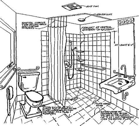 barrier  bathroom design handicappedbathroomtips