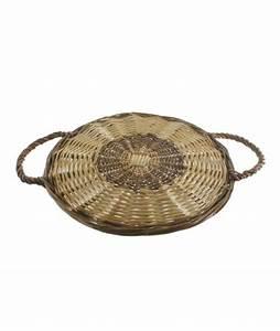 Set De Table Osier : set de table en osier avec poign e 25 cm ~ Teatrodelosmanantiales.com Idées de Décoration