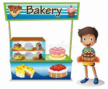 Selling Boy Cakes Clipart Background Bakery Clip