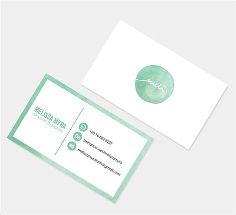 Name The Template by 21 Free Name Card Template Word Excel Formats
