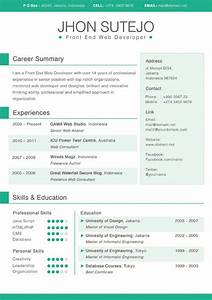 20 awesome designer resume templates for free download With color resume templates free download