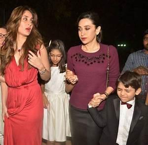Christmas 2015: Kareena, Karisma join mom Babita for ...