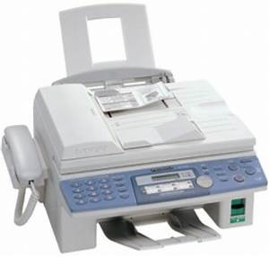 panasonic kx flb756 flatbed multi function laser fax With fax document from computer