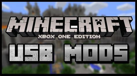 Minecraft Xbox One Usb Mods Usb Full Tutorial