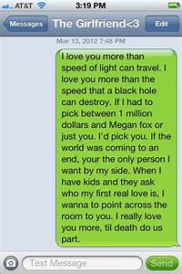 cute long texts for your girlfriend images