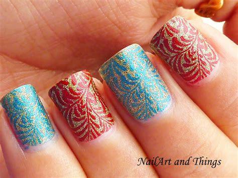 Alternate Nails + Konad M83 Stamping