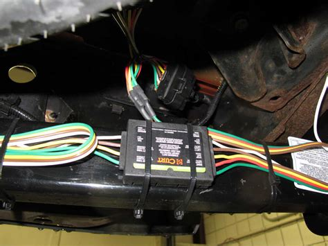 curt custom fit vehicle wiring  chevrolet colorado