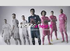 New adidas Real Madrid 201415 kit Wear it or fear it