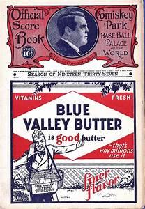 mlb program chicago white sox 1937 sportspaper info