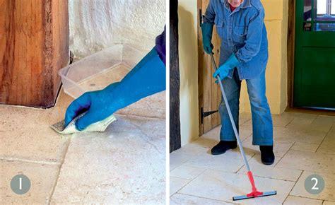 how to clean floor tiles period living