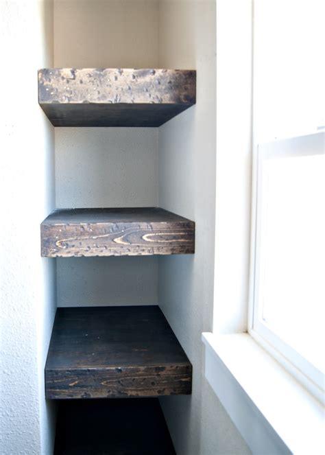 Project Kid's Bathroom  Diy Chunky Wood Floating