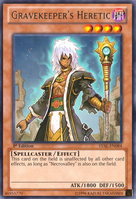 Yugioh Gravekeeper Deck 2014 by Gravekeeper S Heretic Yu Gi Oh It S Time To Duel