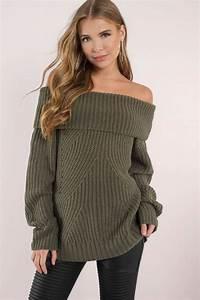 Oversized Off Shoulder Sweaters | www.pixshark.com ...