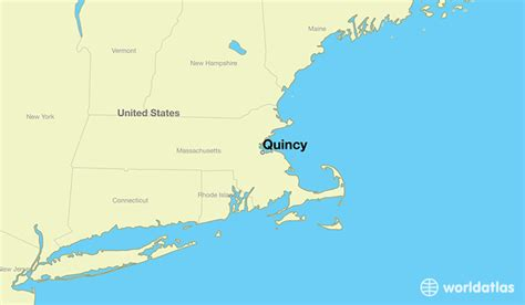 quincy ma quincy massachusetts map