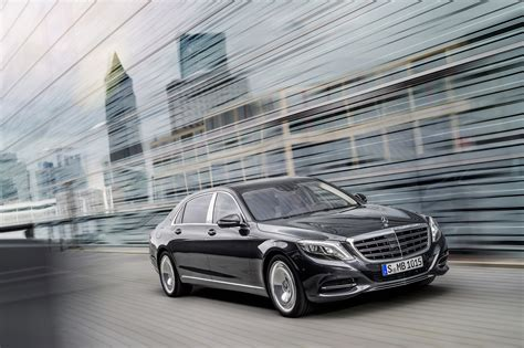 2016 Mercedes-benz S-class Maybach Debuts Officially