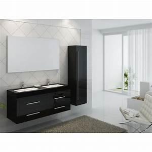 Double Vasque Pas Cher : meuble salle de bain double vasque pas cher ~ Dailycaller-alerts.com Idées de Décoration