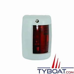 Feu De Navigation Bateau : feu de navigation babord rouge 112 5 pour bateaux de moins de 12 m tres blanc euromarine 002031 ~ Maxctalentgroup.com Avis de Voitures