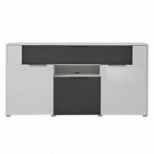 Tagesdecke Grau Weiß : sideboard wei hochglanz preisvergleich die besten angebote online kaufen ~ Whattoseeinmadrid.com Haus und Dekorationen