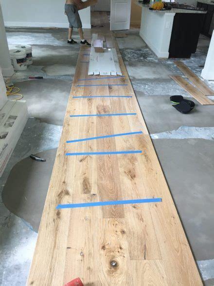 installing oak flooring wire brushed oak flooring installation nocatee florida