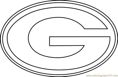 green bay packers coloring pages green bay packers logo coloring page free nfl coloring