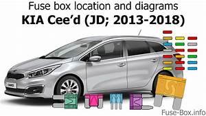 Fuse Box Location And Diagrams  Kia Cee U0026 39 D  Jd  2013