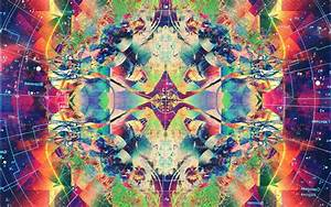 Psychedelic, Abstract, Colorful, Symmetry, Wallpapers, Hd
