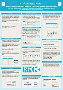a1 size poster template powerpoint bolducinfo With a1 size presentation poster templates download