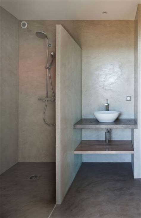 les 25 meilleures id 233 es concernant salle de bain en b 233 ton