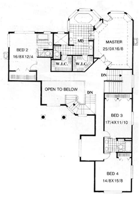 French Home Plan - 4 Bedrms, 4.5 Baths - 6561 Sq Ft - #149
