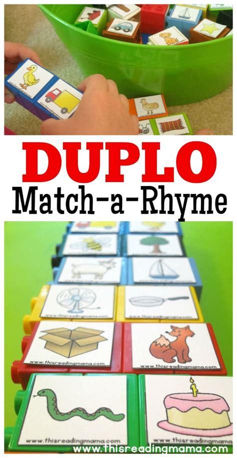 duplo rhyming word matching rhyming words 692 | 8d94b201dcd019404b41d21f9360d0d3