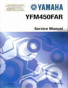 Used 2003 Yamaha Kodiak 450 4 U00d74 Atv Service Manual