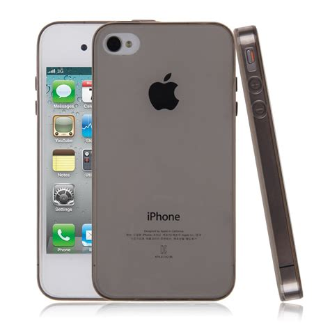 iphone 0 0 3mm ultra slim gel tpu silicone back bumper cover
