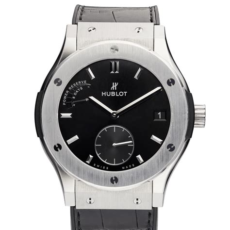 We did not find results for: Hublot Classic Fusion Power Reserve 8 Days 45mm - The Watch Standard : The Watch Standard