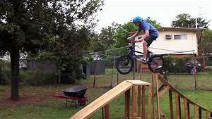 Home Made Bmx Ramp Youtube