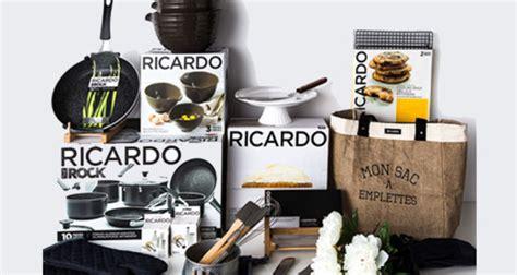 ricardo cuisine concours un ensemble d 39 accessoires ricardo 1250 québec