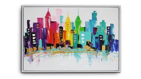 miroir chambre design tableau saginaw peinture à l 39 huile 120x80 cm mobilier moss