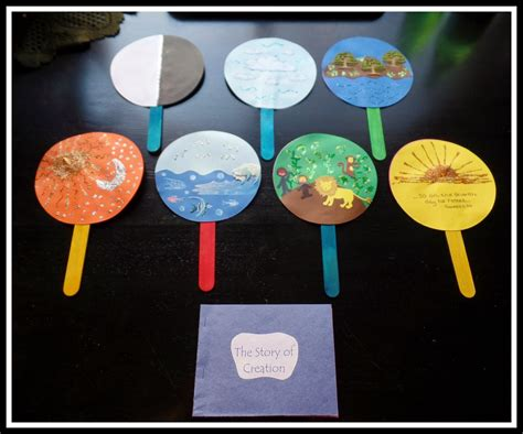 preschool creation crafts april s homemaking simply sunday school creation story 512
